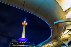 Kyoto Tower in Kyoto, Japan Royalty Free Stock Image
