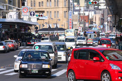 Kyoto traffic Royalty Free Stock Photography