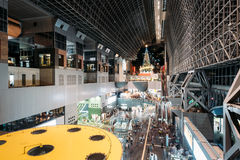 Kyoto Train Station. Royalty Free Stock Image