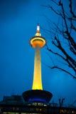 Kyoto-Turm Stockfotografie