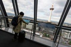 Kyoto-Turm Stockfotos