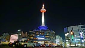 Kyoto-Turm Stockbild