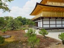 kyoto złoty pawilon Fotografia Royalty Free