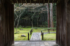 Kyoto zen garden Royalty Free Stock Photography