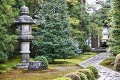 Kyoto zen garden Royalty Free Stock Photography