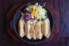 Kyoza Japans voedsel Stock Fotografie