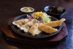 Kyoza Japans voedsel Royalty-vrije Stock Fotografie