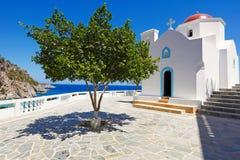 Kyra Panagia de Karpathos, Grecia Imágenes de archivo libres de regalías