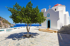 Kyra Panagia of Karpathos, Greece royalty free stock images