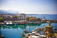 Kyrenia,北部塞浦路斯 库存照片