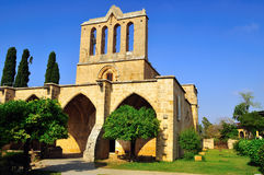 kyrenia bellapais аббатства стоковое изображение rf