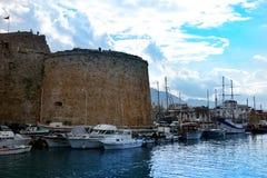 Kyrenia Castle, Girne Kalesi Royalty Free Stock Photo