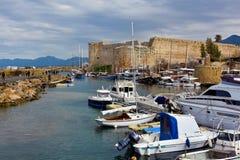 Kyrenia Castle, Girne Kalesi Stock Photos