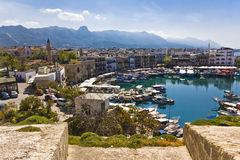 Kyrenia, Chypre du nord Photo stock