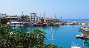 Kyrenia City Bay Royalty Free Stock Photos