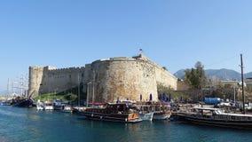 Kyrenia (Girne), Cypern Royaltyfri Bild