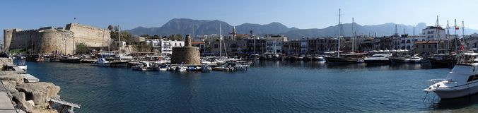 Kyrenia (Girne), Cypern Royaltyfri Fotografi