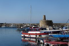 Kyrenia (Girne), Cyprus Royalty Free Stock Images