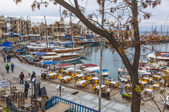 Free Kyrenia Girne Old Harbour, Northern Cyprus Stock Photos - 85383153