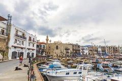 Kyrenia Girne old harbour, Northern Cyprus Royalty Free Stock Photos