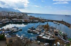 Kyrenia harbor Royalty Free Stock Photo