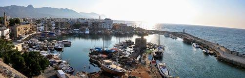 Kyrenia harbour. Kyrenia Girne, Cyprus. Stock Photo