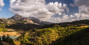 Kyrenia Mountains, Cyprus Royalty Free Stock Photography