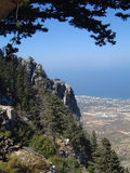 Kyrenia Mountains Cyrpus Royalty Free Stock Photography