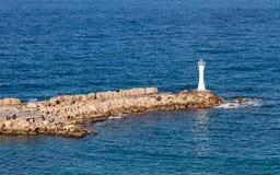 Kyrenia Pier Royalty Free Stock Photography