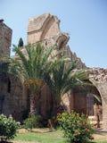 Kyrenia, ruinas de Chipre - de la abadía de Bellapais Foto de archivo libre de regalías