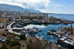 Kyrenia schronienie Obrazy Royalty Free