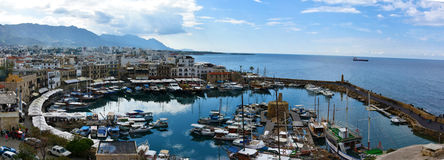 Kyrenia schronienie Zdjęcie Royalty Free