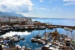 Kyrenia schronienie Obraz Royalty Free