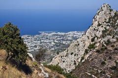 Kyrenia - türkisches Zypern Stockbild