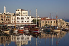 Kyrenia - turkisk republik av nordliga Cypern Arkivbild