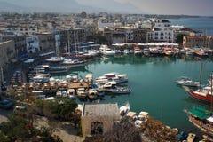 Kyrenia (Girne) harbour. Royalty Free Stock Photo