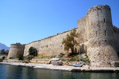 Kyreniakasteel Stock Foto