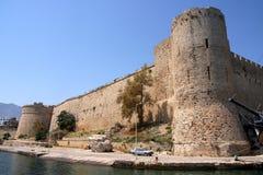 Kyreniakasteel Royalty-vrije Stock Afbeelding