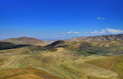 kyrgyz bergkant Arkivfoto
