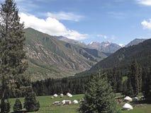 Kyrgyz dwelling Royalty Free Stock Photo