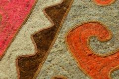 Kyrgyz national carpet shyrdak Royalty Free Stock Image