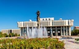 Kyrgyz National Philharmonic named after Toktogul Satylganov in Bishkek stock photos
