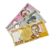 Kyrgyz paper money Royalty Free Stock Photo