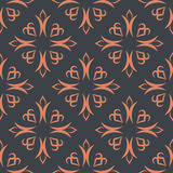 Kyrgyz pattern. Traditional national pattern of Kyrgyzstan. Text Stock Photos