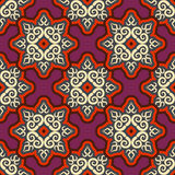 Kyrgyz pattern. Traditional national pattern of Kyrgyzstan. Text Stock Photography