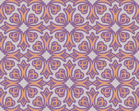 Kyrgyz pattern. Traditional national pattern of Kyrgyzstan. Text Stock Photo