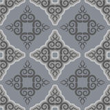 Kyrgyz pattern. Traditional national pattern of Kyrgyzstan. Text Royalty Free Stock Photography