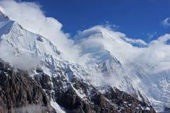 Kyrgyzstan - Khan Tengri (7, 010 m) stock afbeelding