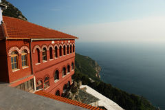 Kyriako. Mount Athos, Agia Anna, Greece stock images