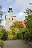 kyrka Fotografering för Bildbyråer